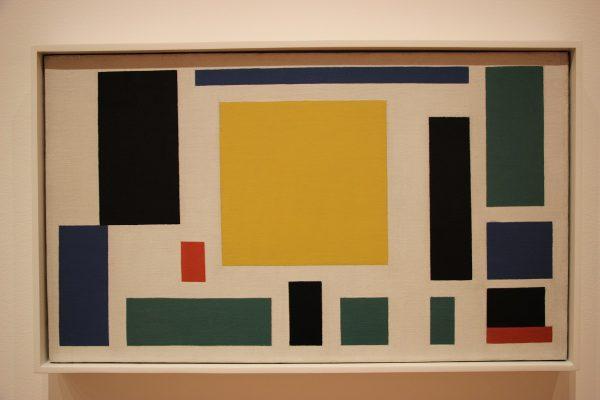 Peinture du musée d'art moderne du MOMA à New-York