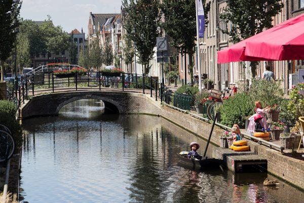 Un canal à Gouda