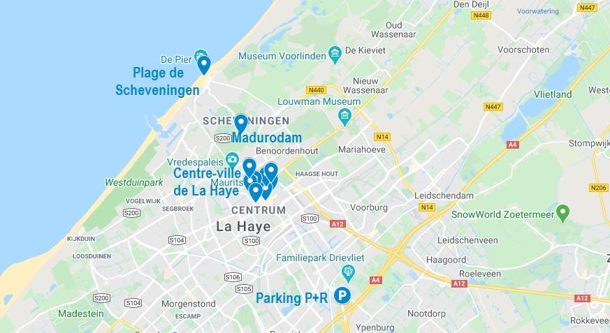 Visiter La Haye et ses alentours