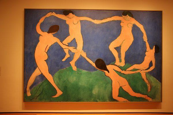 Tableau de Matisse exposé au MOMA