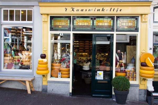 Une boutique de fromages à Gouda
