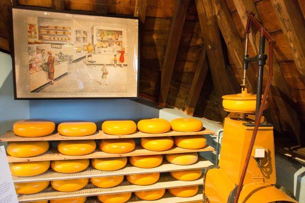 Dans le musée des artisanats de Gouda