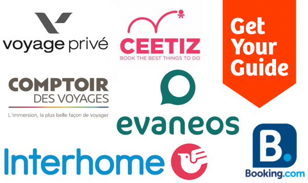Logos partenaires Hashtag Voyage