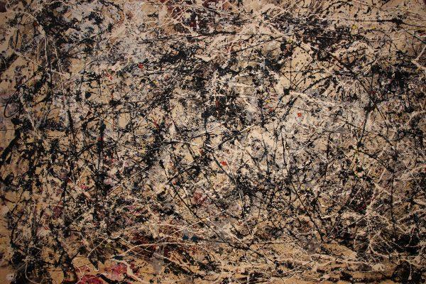 Une peinture de Jackson Pollock au MOMA