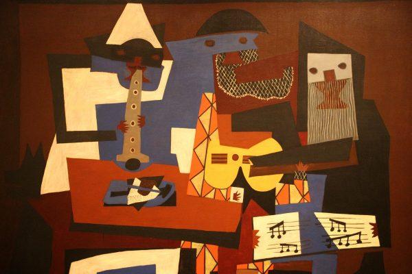 Un tableau de Picasso au MOMA
