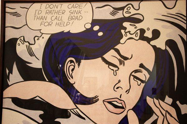 Un tableau de Roy Lichtenstein au MOMA