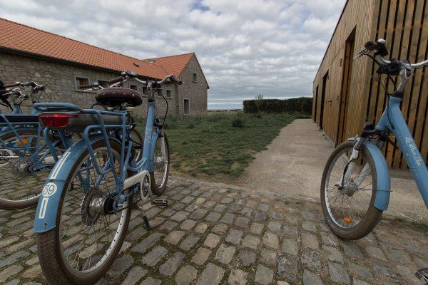 Vélos de location à la Maison du Grand site des deux caps