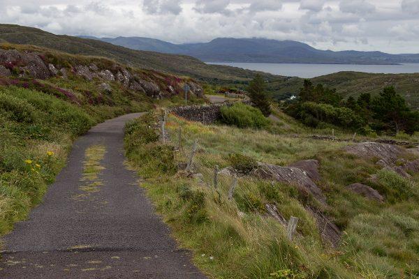 Petit chemin dans la région du Ring of Kerry