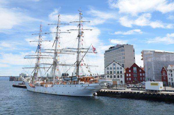 Dans le port de Stavanger