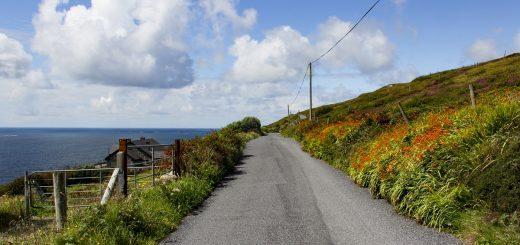Préparer son road trip en Irlande, avec ici la Skyroad