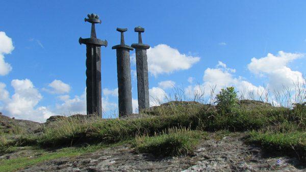 Les trois épées près de Stavanger