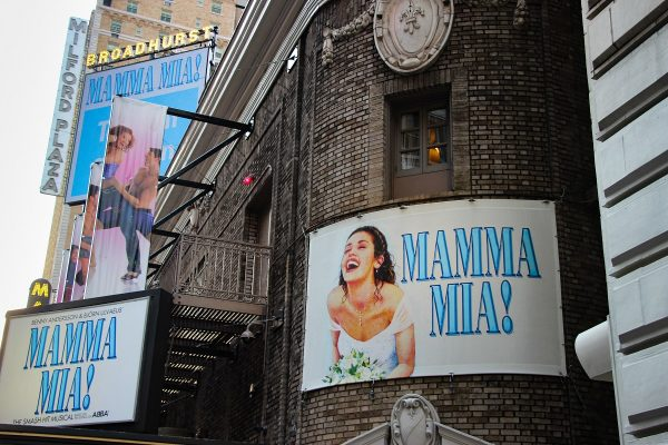 La salle de spectacle de Mamma Mia à New-York