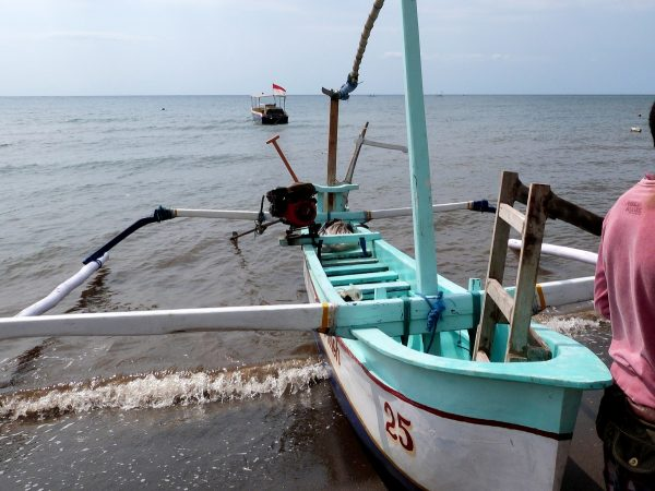 Bateau de pêche à Bali