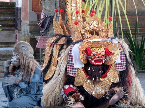 Le barong à Bali