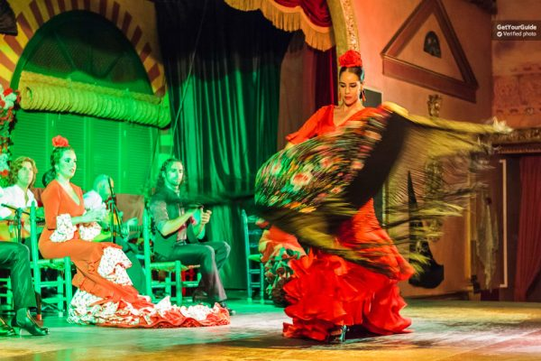 Une danseuse de flamenco