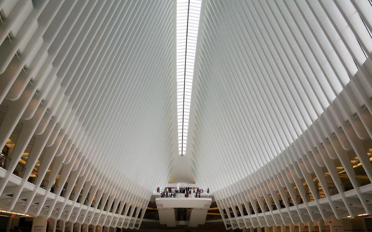 Gare Oculus dans le sud de Manhattan