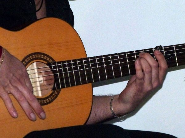 Guitare dans un spectacle de flamenco