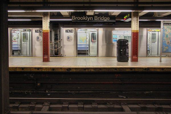 Dans le métro à New-York