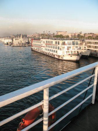 Bateaux de croisière sur le Nil