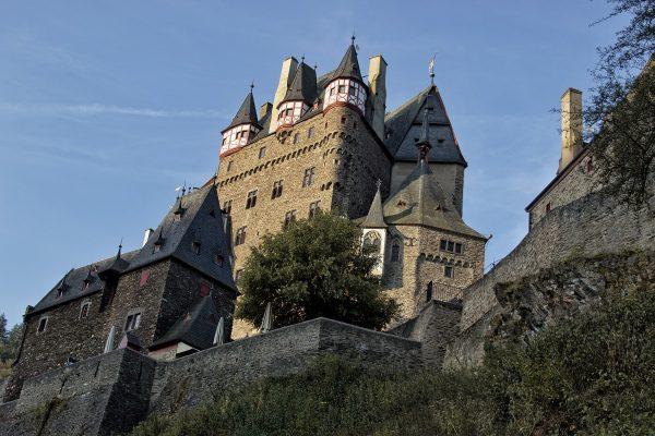 Les contrebas du château de Eltz