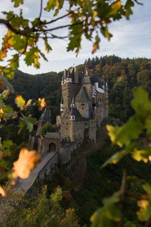 Château de Eltz au lever du soleil