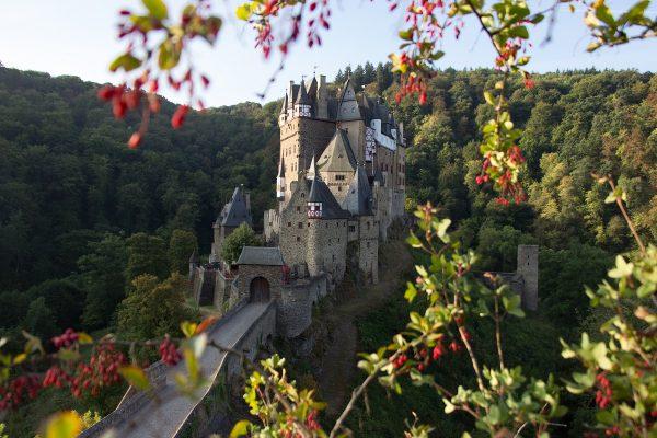 Le château de Eltz en Allemagne