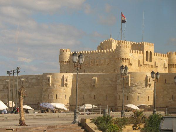La citadelle Qaitbay à Alexandrie