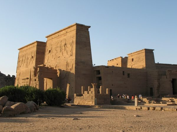 Le temple de Philae en Egypte