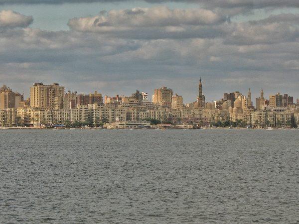 Vue sur Alexandrie en Egypte