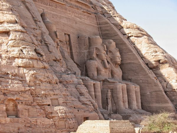 Grand Temple d'Abou Simbel en Egypte