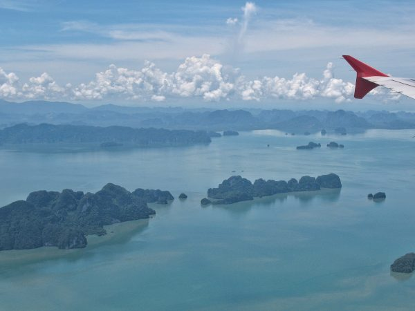 Phuket et les îles alentours vu du ciel