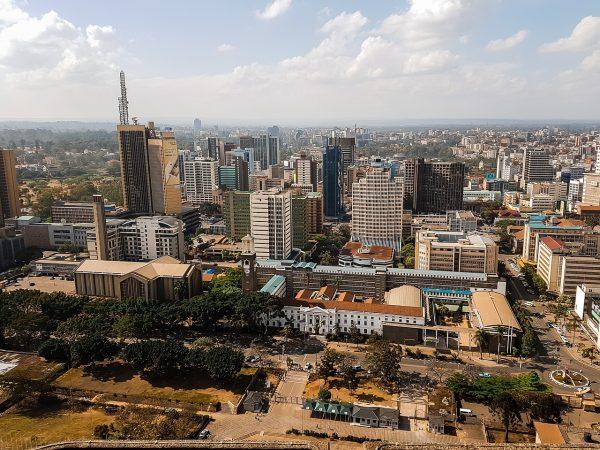 Vue sur Nairobi depuis les hauteurs