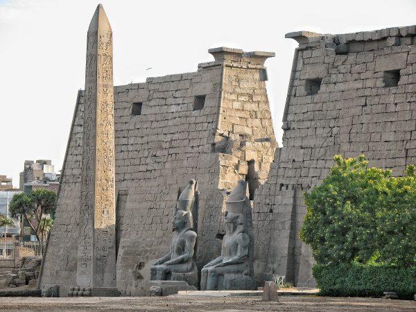 L'obélisque du temple de Louxor