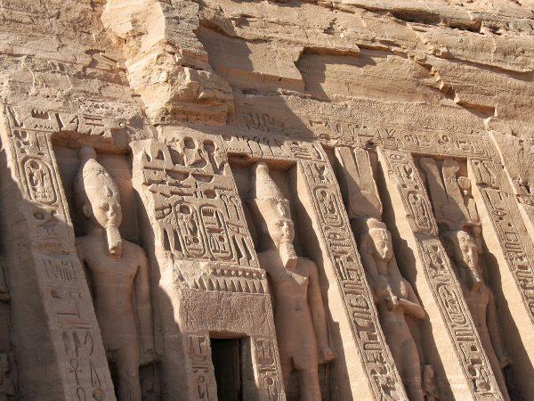 La visite du Petit Temple d'Abou Simbel