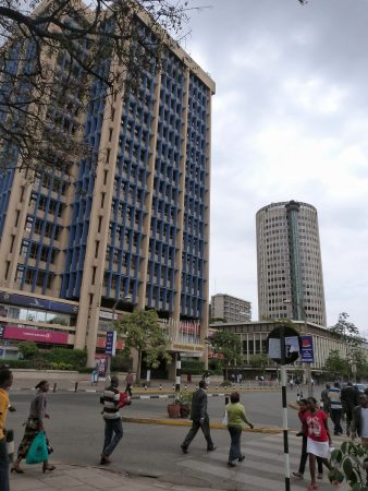 Dans les rues de Nairobi