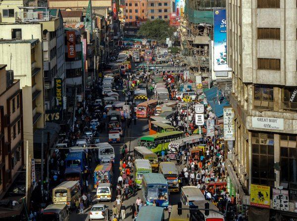 Circulation dans Nairobi