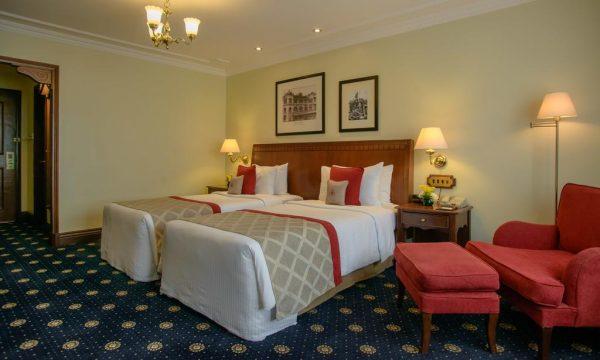 Dans le Sarova Stanley Hotel à Nairobi
