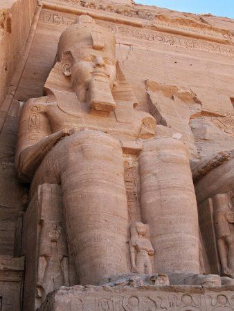 Statue du grand temple d'Abou Simbel