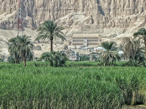 Le temple d'Hatshepsout près de Louxor