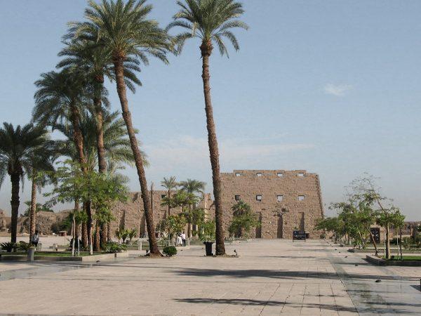 Le temple de Karnak près de Louxor