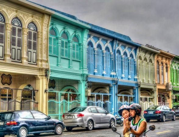 Dans la vielle ville de Phuket