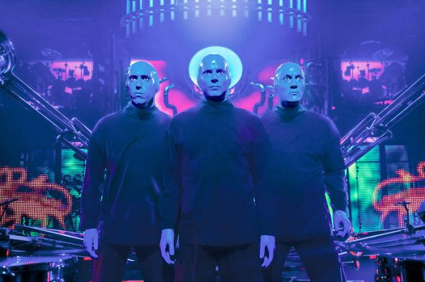 Le Blue Man Group à Las Vegas