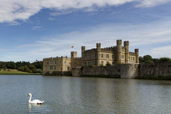 Le château de Leeds dans le Kent