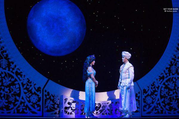 La comédie musicale Aladdin à New-York
