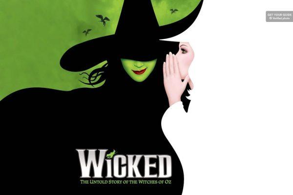 Affiche de la comédie musicale Wicked