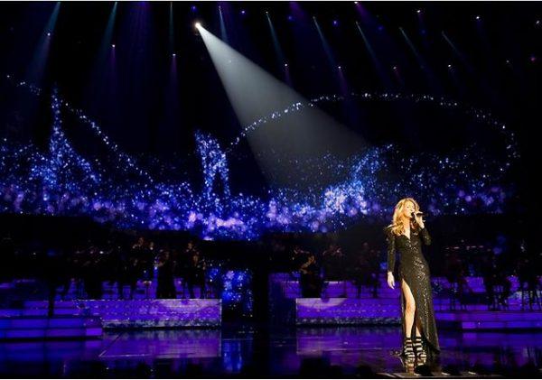 Concert de Céline Dion à Las Vegas