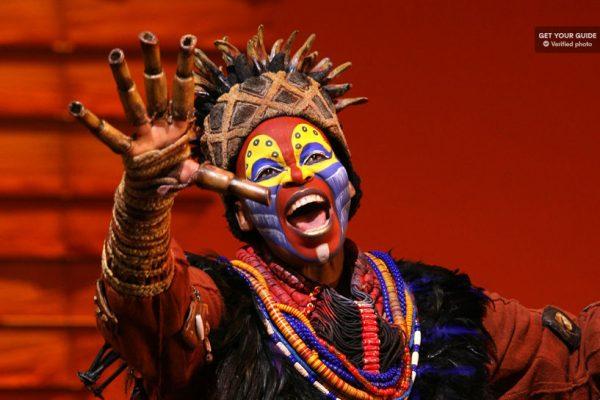 La comédie musicale du Roi Lion à Broadway