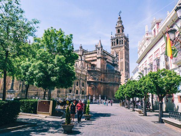 La cathédrale et la giralda de Séville