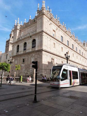 Le tramway à Séville