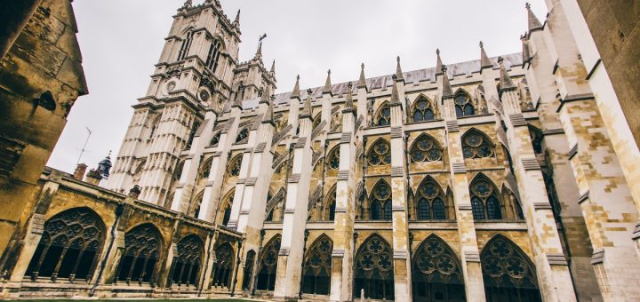 Cloître de l'abbaye de Westminster
